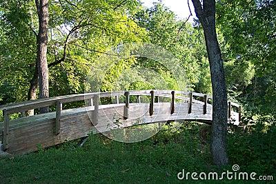 Bridge at Peaks View Park