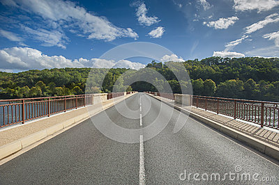 Bridge in perspective
