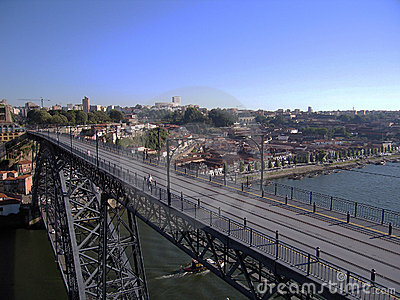 Bridge in Porto.