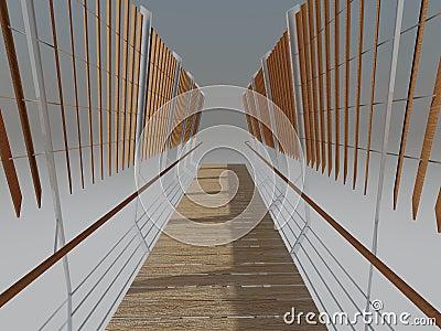Bridge Rendered Perspective