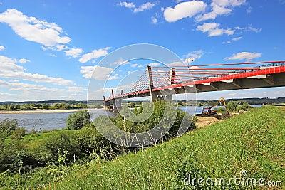 Bridge on the River Vistula