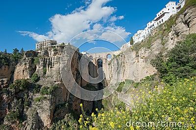 Bridge in Ronda, Andalusia, ronda, Spain