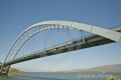 Bridge at Roosevelt Lake