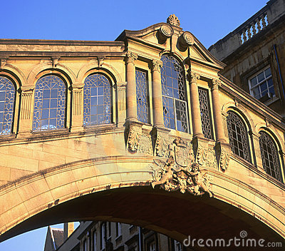 Bridge of Sighs. Oxford, England