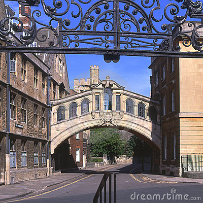 Bridge of Sighs. Oxford. England