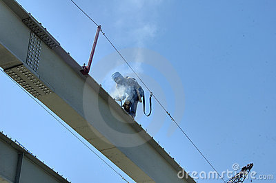 Bridge Steel Construction Welder