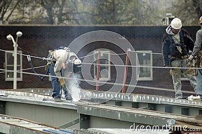 Bridge Steel Construction Welder