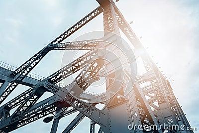 Bridge steel structure