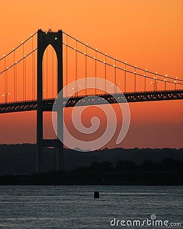 Free Bridge Sunset Royalty Free Stock Images - 544429