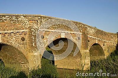 Bridge in sunshine