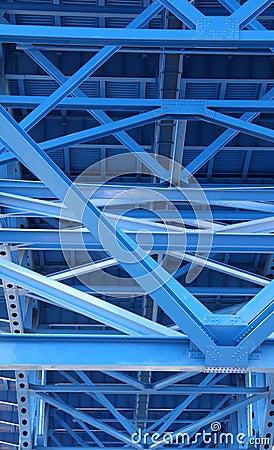 Free Bridge Support Beams Stock Image - 5044021