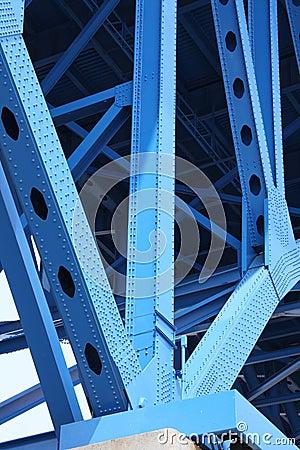 Free Bridge Support Beams Royalty Free Stock Photo - 5044045
