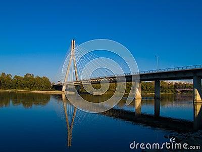 Bridge Swietokrzyski, Warsaw , Poland
