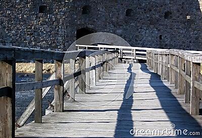 Bridge to the castle