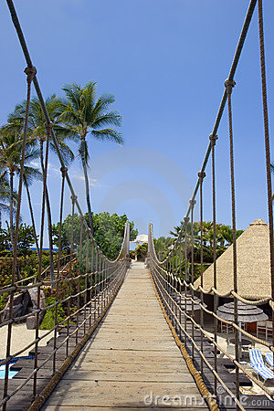 Bridge to Heavenly Beach, Kona