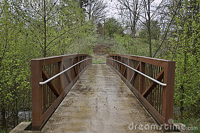 Bridge to Hiking Trail 2