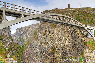 Bridge to the Mizen Head Lighthouse