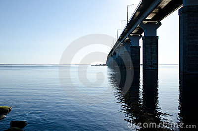 Bridge to Oland, Sweden