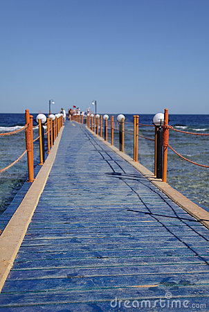 Bridge to sea