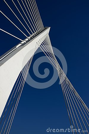 Free Bridge. Together To Reach Sky. Success. Royalty Free Stock Photo - 118999365