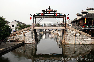Bridge in Tongli China