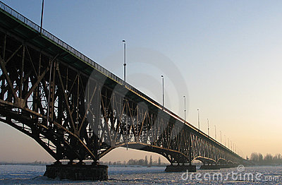 The Bridge in winter.