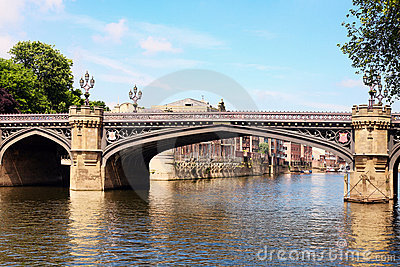 Bridge in York, England