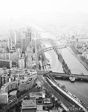 Bridges across Seine