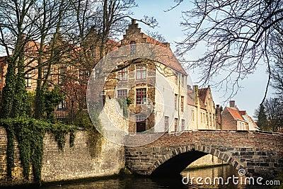 Bridges in medieval Bruges