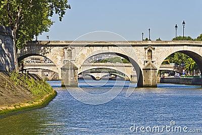 Bridges over the River Seine