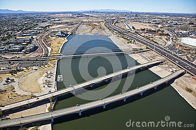 Bridges Of Tempe Stock Images - Image: 25474064