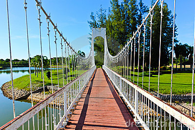 Bridges in Udon Thani parks