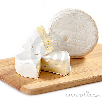 Brie and camembert cheese