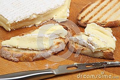 Brie on Toast
