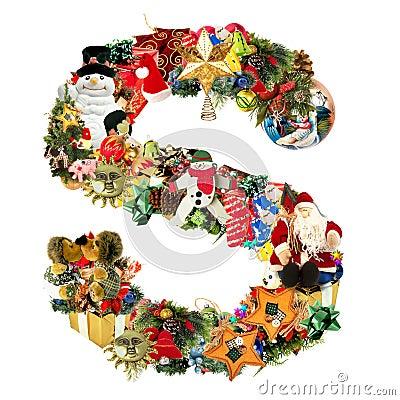 Brief s voor de decoratie van kerstmis royalty vrije stock afbeeldingen afbeelding 7287849 - Decoratie van de villas ...