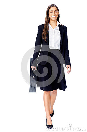 Free Briefcase Business Woman Stock Photo - 26666850