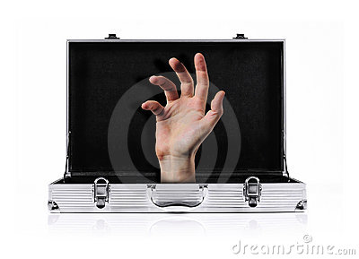 Briefcase hand