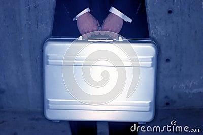 Briefcase holder