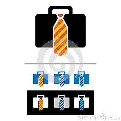 Briefcases icons