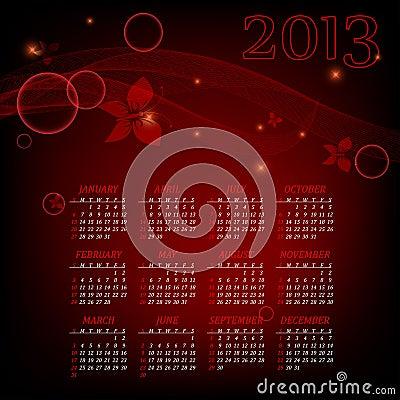 Bright 2013calendar