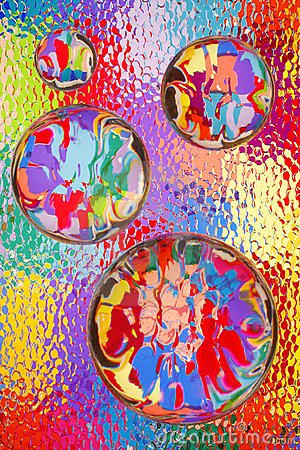 Free Bright Abstract Colors & Glass Royalty Free Stock Image - 5113196