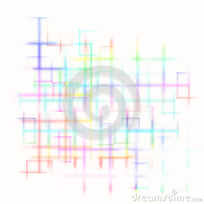 Bright abstract maze background