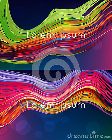 bright abstract vector backgrounds