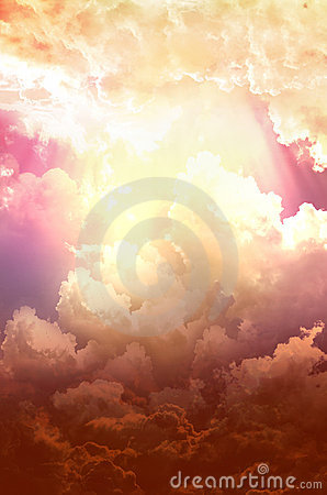 Free Bright And Dark Clouds Royalty Free Stock Image - 22421666