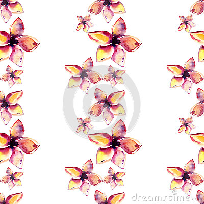 Free Bright Beautiful Tender Sophisticated Lovely Tropical Hawaii Floral Summer Pattern Of A Tropic Light Pink And Yellow Flowers Royalty Free Stock Photography - 91746227