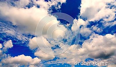 Bright Blue Clouds