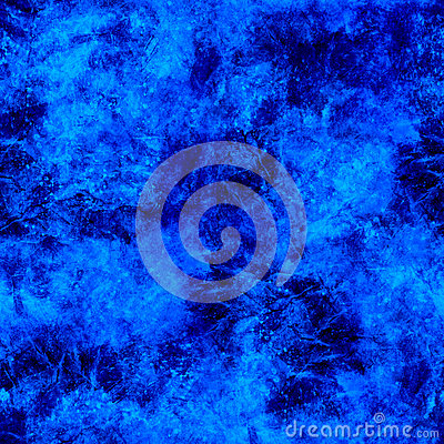 Bright Blue Ice Seamless Background