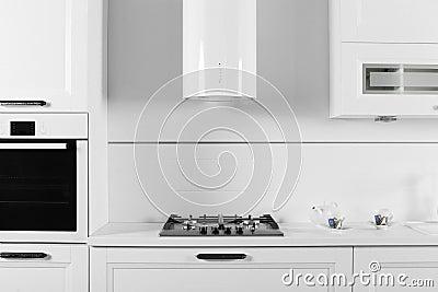 Bright brand new european kitchen
