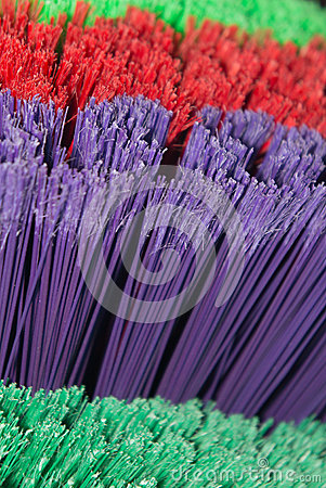 Bright Broom Bristles