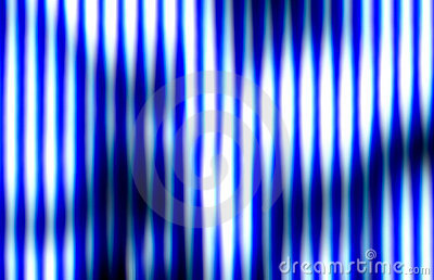 Bright burning vertical lines